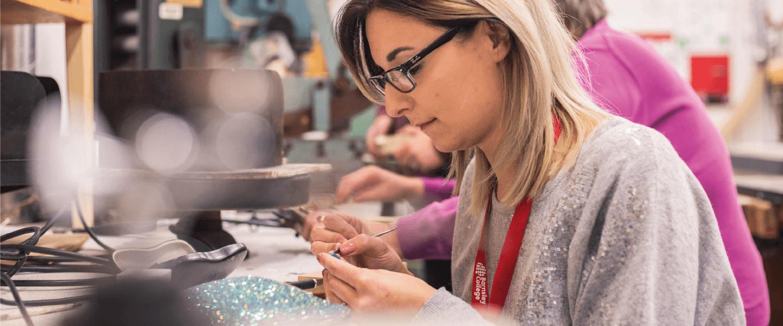Student jewellery making