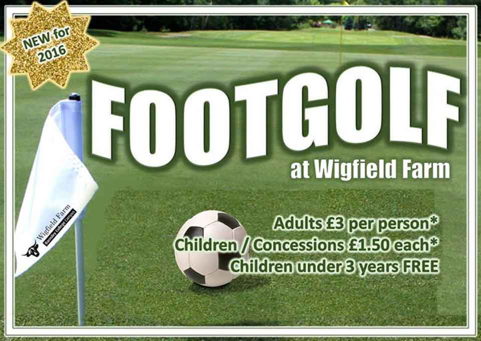 Footgolf at Wigfield Farm