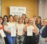 Innovative partnership apprentices commended