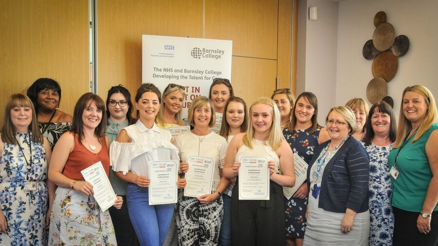 Clinical Healthcare Support apprentices