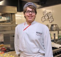 Catering student lands prestigious work placement in top London hotel