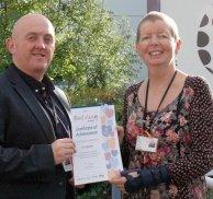 Tutor Viv receives commendation
