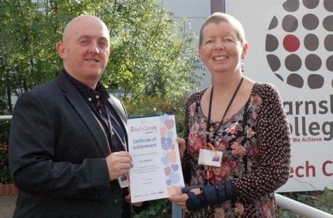 Viv Herbert - Festival of Learning Certificate