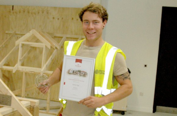 Joinery apprentice wins top award
