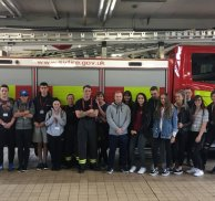 Students experience life on the watch