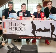 Public Service students raise money for Help for Heroes