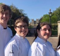 Catering students serve royal feast