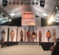 Fashion students catwalk like an Egyptian