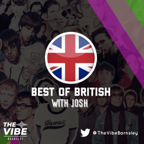 Best of British every Wednesday at 7.00pm on The Vibe