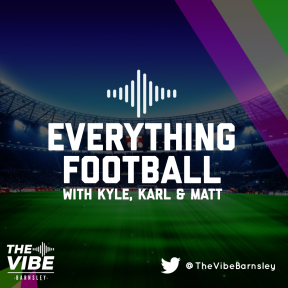 Everything Football every Friday at 3.00pm on The Vibe