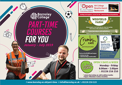 Adult And Part Time Courses Barnsley College