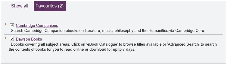 Dawson Books eBook Central
