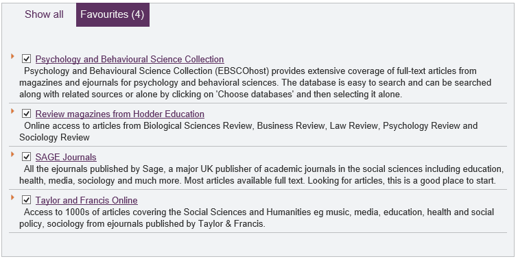 Psychology and Behavioural Science Collection Review magazines from Hodder Education including Law Review sage Journals Taylor and Francis Online