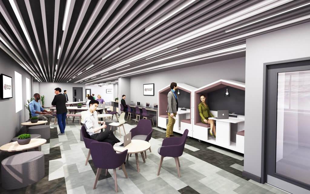 Architects impression of Digital Hub