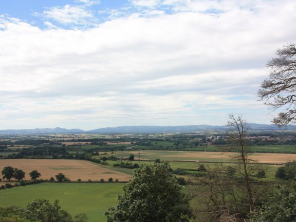 View of Shropshire from Haughmond Hill