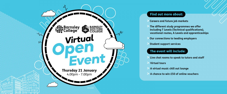January virtual Open Event