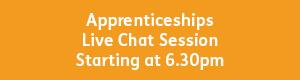 Apprenticeships 6.30pm