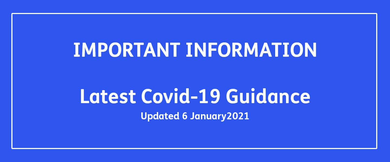 Update 6 January 2021