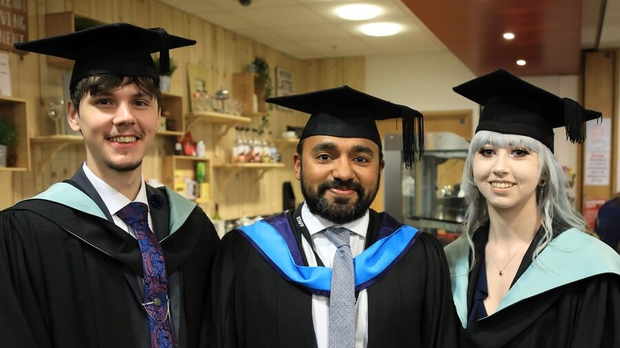 Students graduate from Barnsley College HE