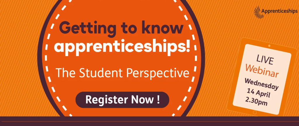 Getting to know apprenticeships webinar 14 April 2021