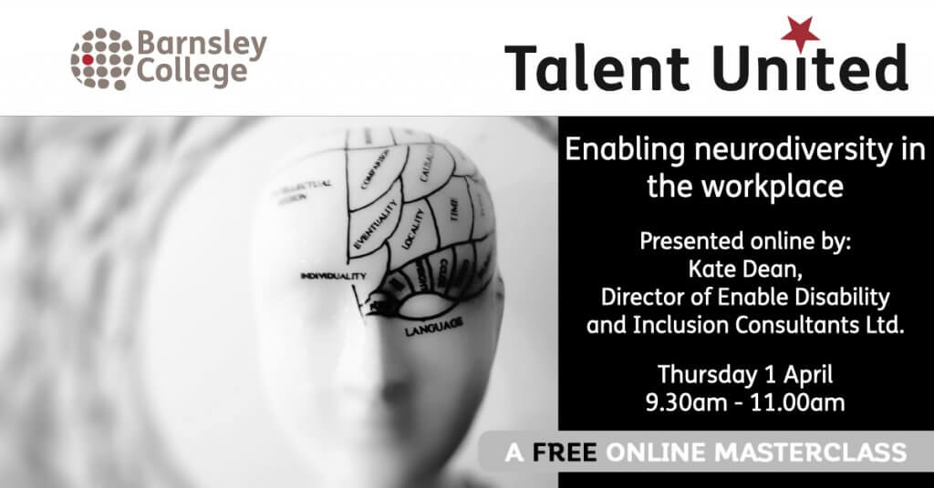 Talent Utd Masterclass Neurodiversity In The Workplace April 2021