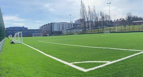 New 4G AstroTurf pitch at Honeywell Sports campus