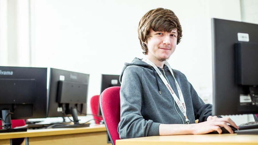 Barnsley College HE student