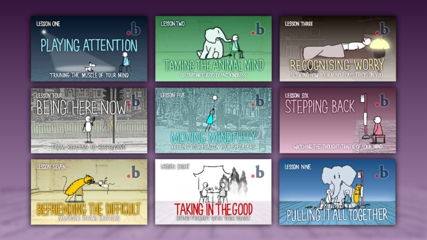 Nine-week mindfulness programme.