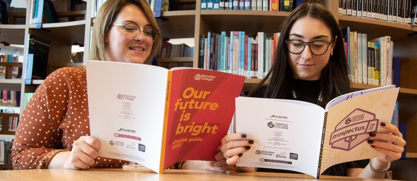Barnsley College and Barnsley Sixth Form College course guides are available to download now.