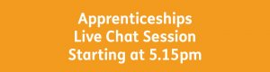 IAG Open Day 5.15pm chat session
