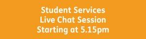 Student Services button 5.15pm