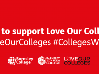 Love Our Colleges web banner