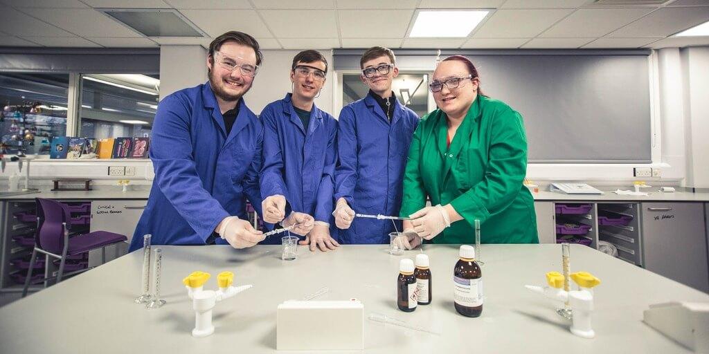 Barnsley College students